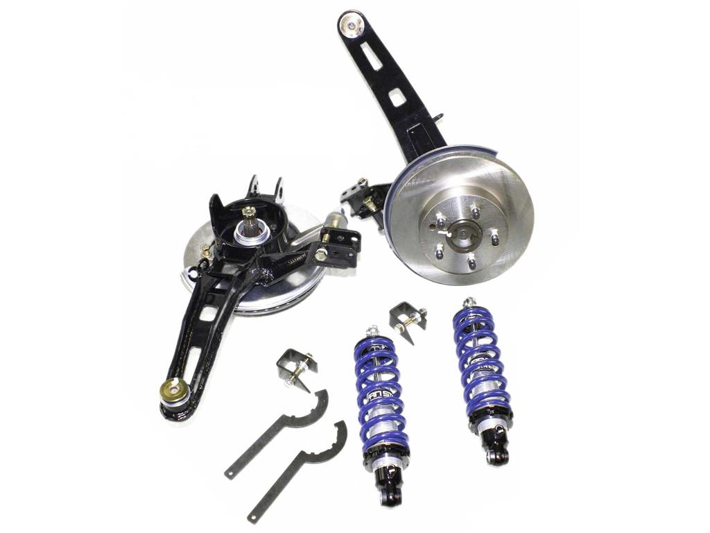 63 82 Rear Coilover System 327 350 Single Adjustable