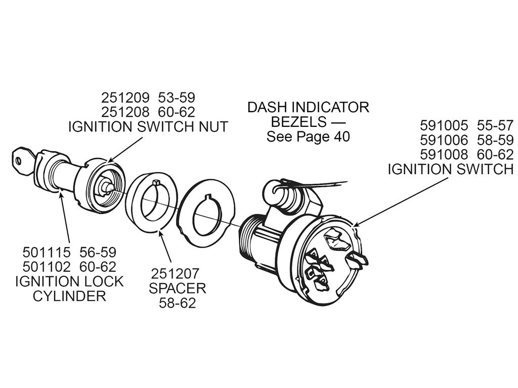 55 57 Ignition Switch