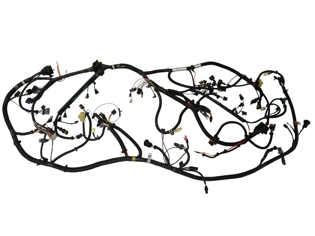 87 Engine Compartment Ecm Wiring Harness