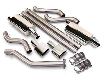90 96 slp power flo exhaust system dual trapezoid tips zr1 lt1 lt4 nd