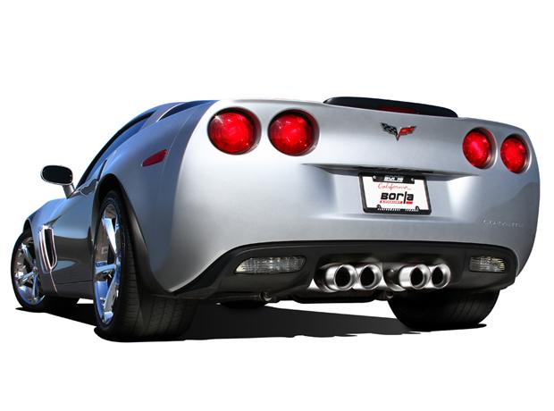 borla sport stinger style axle back exhaust for 2009 c6 corvette 11811