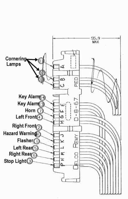 48147699d1501528106 horn wiring from steering column harmonicaconnector1980pinouts?resize=412%2C640&ssl=1 gm steering column wiring diagram the best wiring diagram 2017 rpc steering column wiring diagram at edmiracle.co