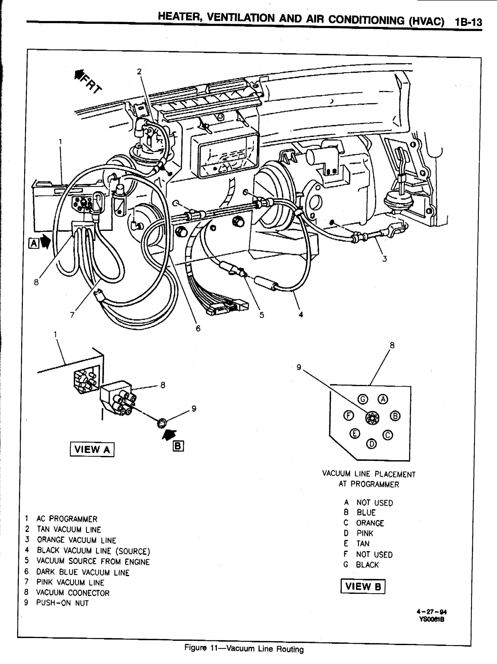 Pontiac Firebird Heater Diagram