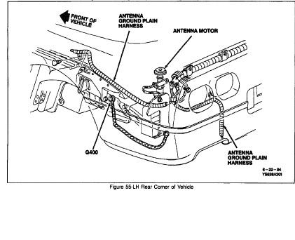 c4 corvette power antenna wiring diagram  1986 chevy truck