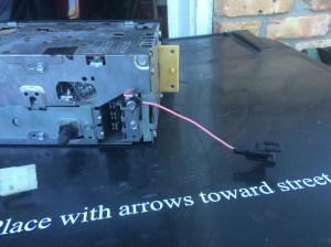Bose Radio amplifier trigger wire  CorvetteForum