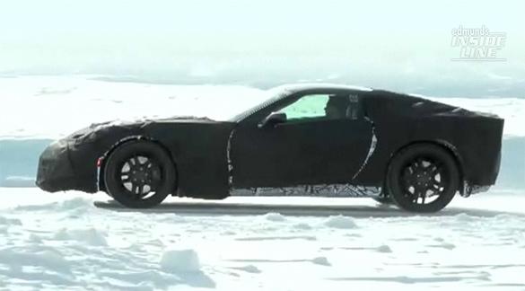 [VIDEO] C7 Corvette Captured on Spy Video