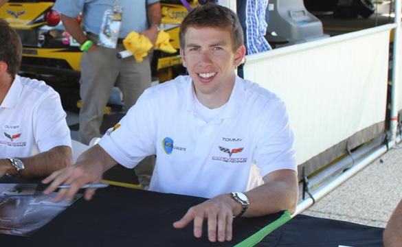 CorvetteBlogger Talks with Corvette Racing's Tommy Milner at the 2011 Petit Le Mans