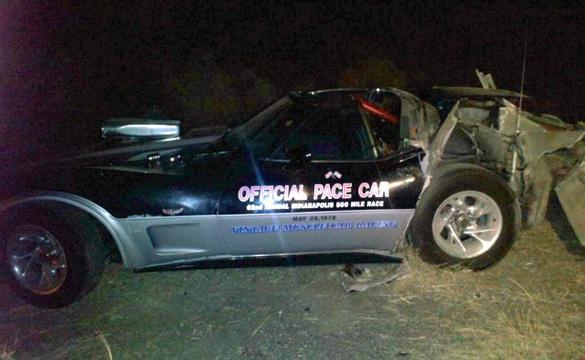 [ACCIDENTS] 1978 Corvette Pace Car vs Semi Truck