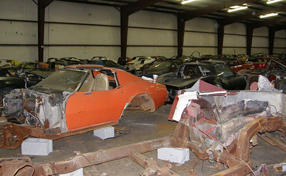 Over 100 Salvage Corvettes Heading to the Auction Block