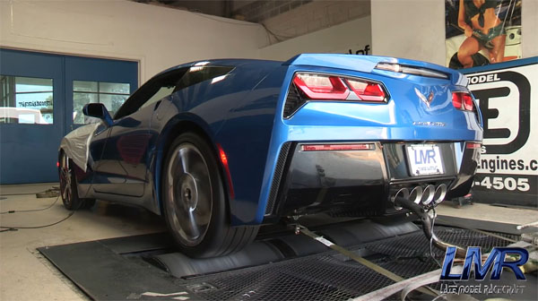 C7 Corvette Stingray with Heads and Cam on Dyno (2)
