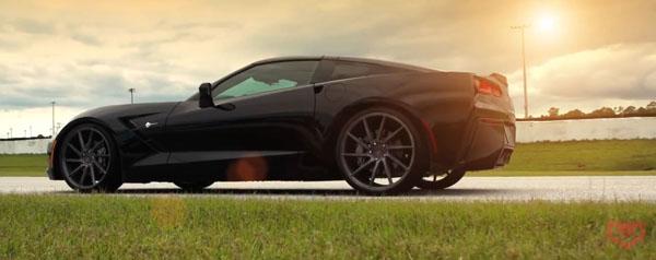 Corvette C7 Stingray on Vossen Wheels Home 2