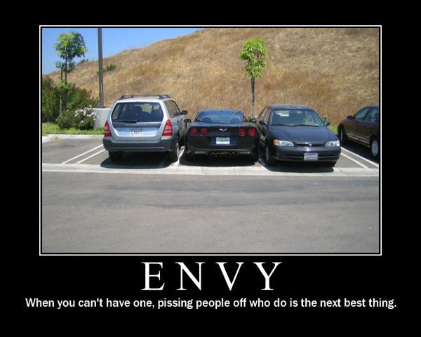 Demotivational Poster Corvette-Envy