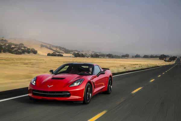 2014 Chevrolet C7 Corvette Stingray Red