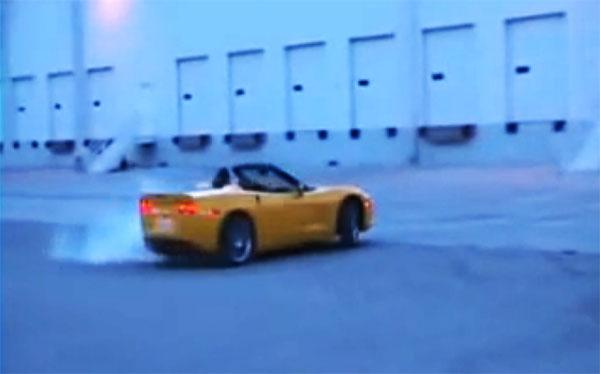 C6 Corvette Convertible Donuts