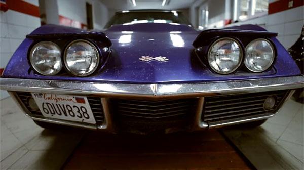 C3 Corvette Convertible Teardown