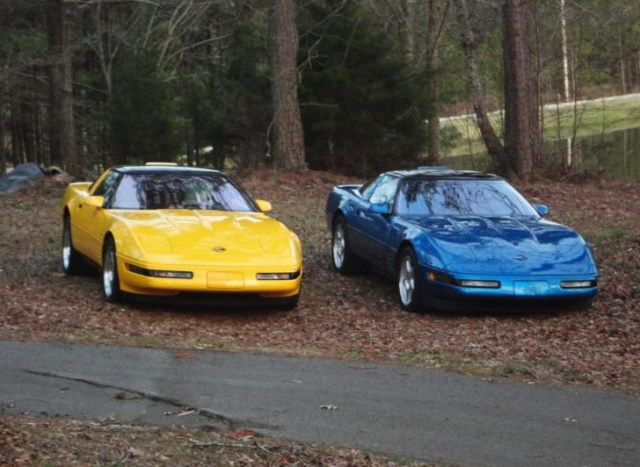 Two C4 Corvette ZR-1s (2)