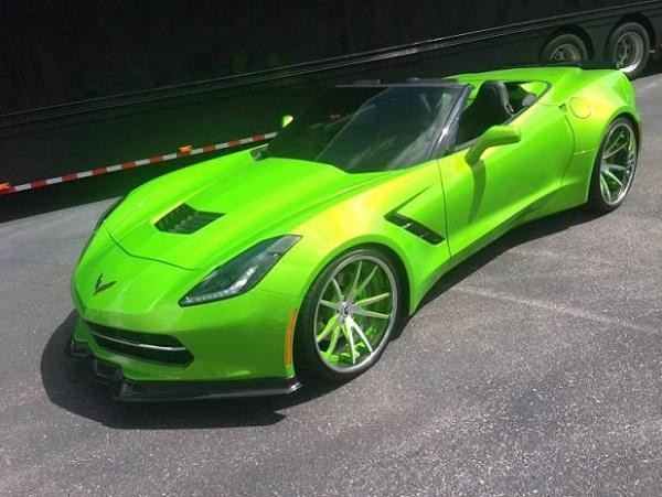 Anti Freeze Green Corvette  text