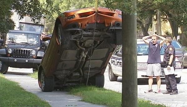Corvette accident text