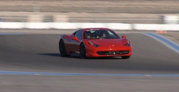Ferrari 458 Italia at Exotics Racing