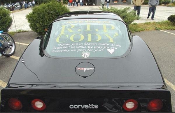 Rip Corvette text