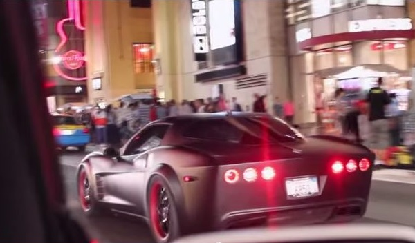Saleen Corvette text