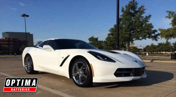 2014 Arctic White 2LT Chevrolet Corvette Stingray