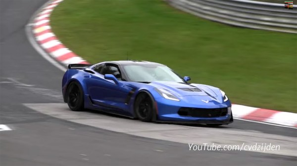 2015 Corvette Z06 with Z07 Package at the Nürburgring (1)