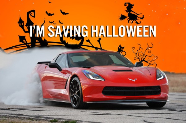 C7 Corvette Stingray Saving Halloween