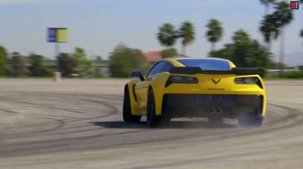 2015 Corvette Z06 Drifting