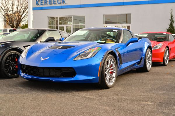2015 Corvette Z06 at Dealership