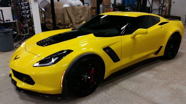 2015 Corvette Z06 in Garage