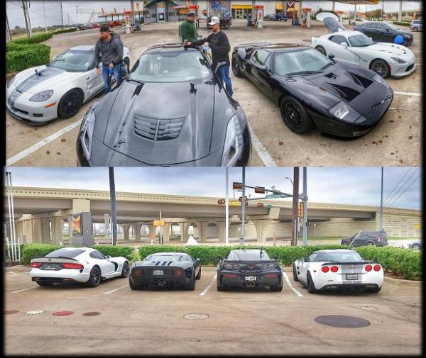 Corvette street racing