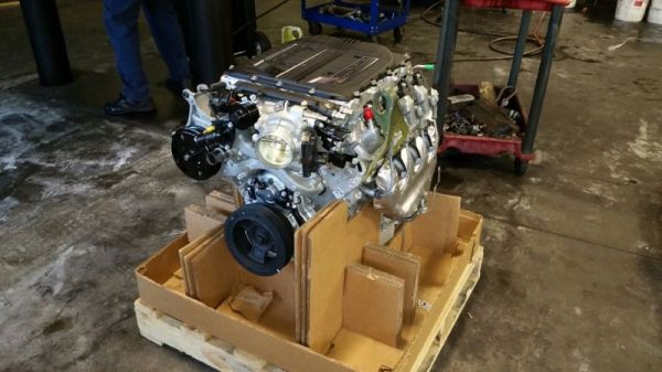 Lawdogg's LT4 Replacement Engine for his 2015 Corvette Z06