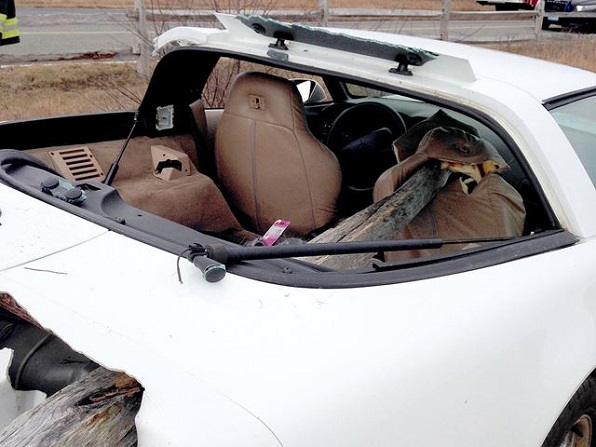 Wrecked Corvette text 2