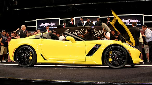 Z06 at Barrett Jackson