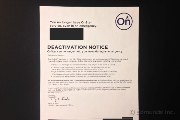 OnStar expiration