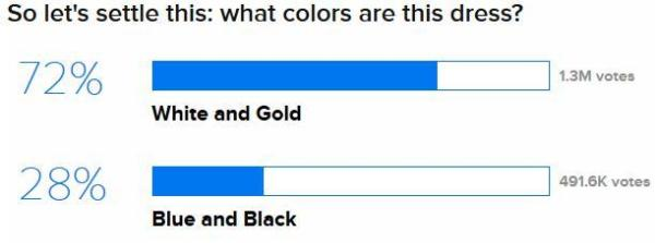 BuzzFeed The Dress Survey