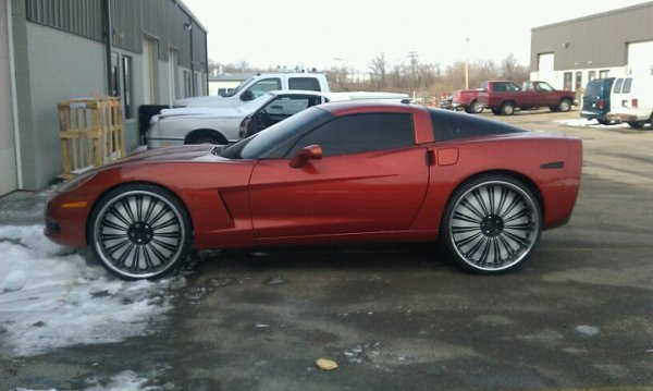 C6 Corvette Donk