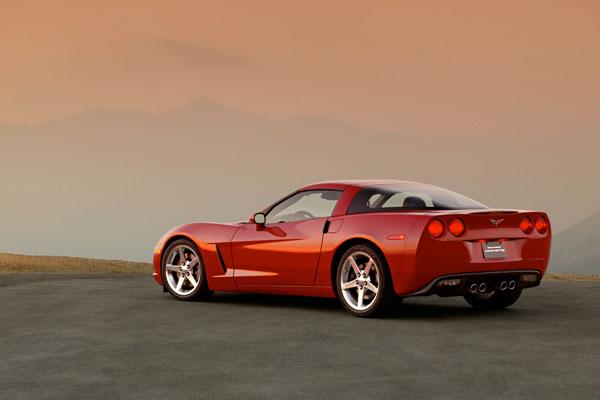 C6 Corvette Glamour Shot