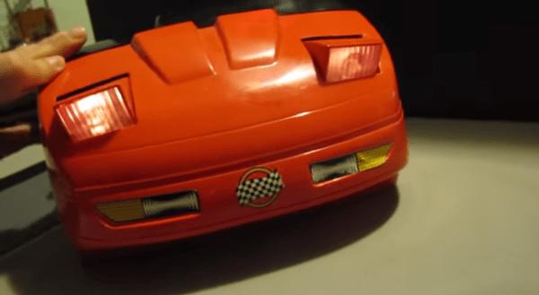 1985 Playmates Fun To Drive Corvette Racing Dashboard