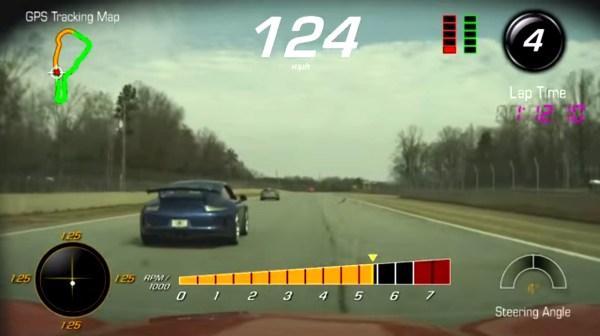Corvette Z06 Racing Porsche 911 991 GT3 at Road Atlanta