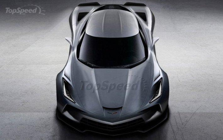 Mid-Engine Corvette Rendering (3)