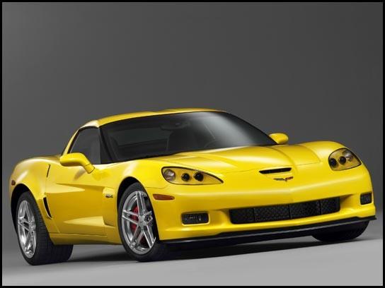 yellow C6 Z06