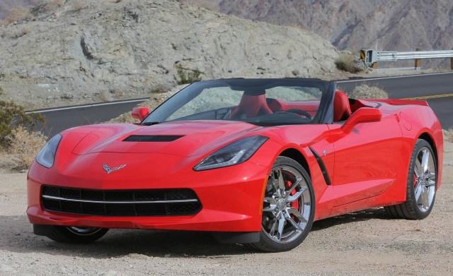 Convertible Corvette C7