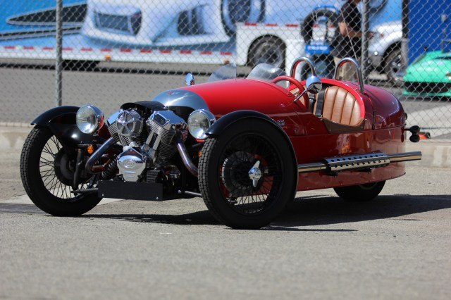 Morgan 3 Wheeler at California Festival of Speed