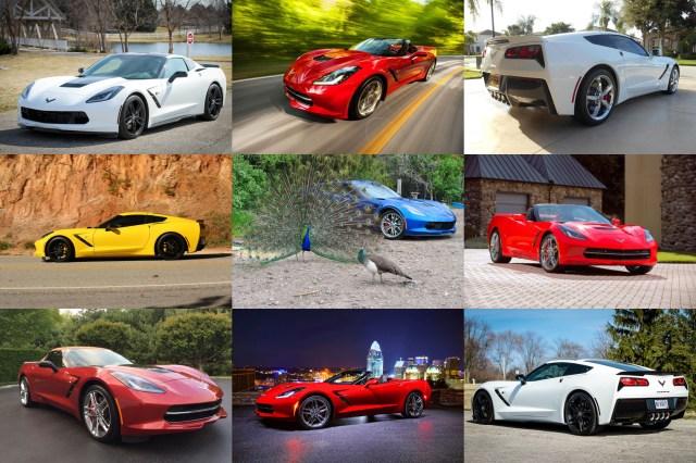 Corvette of the Month Contest Collage Corvette Forum