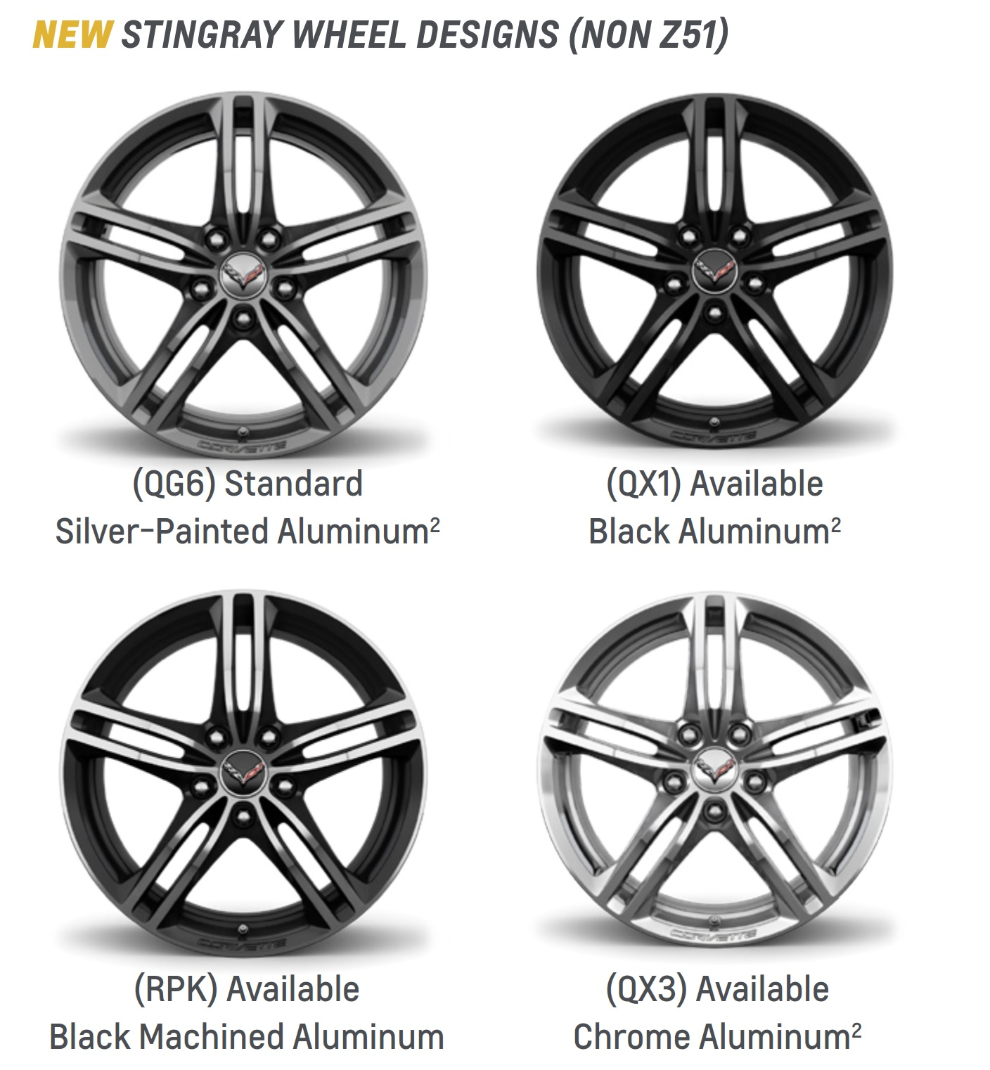 These Are The C7 Corvette S New Wheels