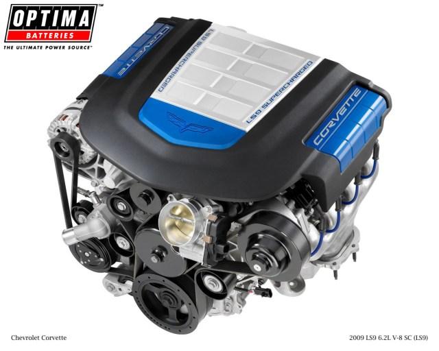 Chevrolet Corvette ZR1 LS9 V8 Engine