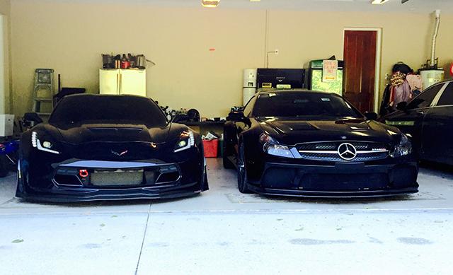 Vette Vs Mercedes