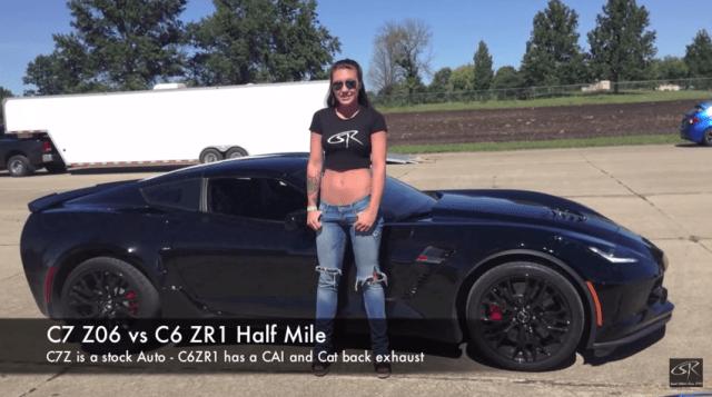 C7 Z06 vs C6 ZR1